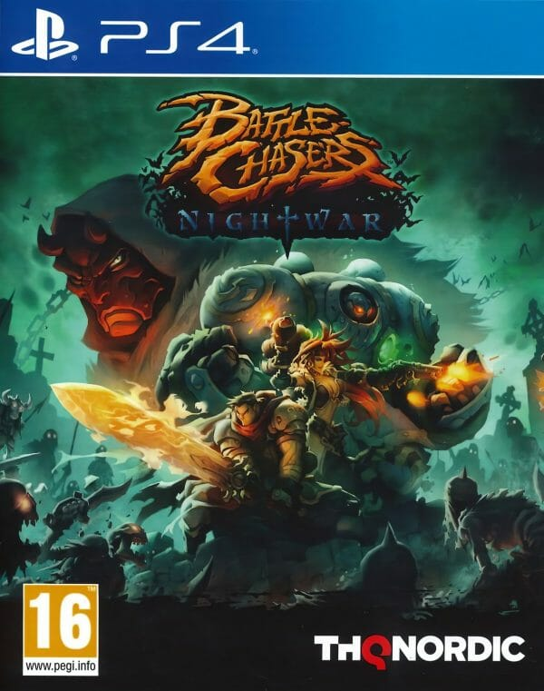 Battle Chasers NightWar PS4 1