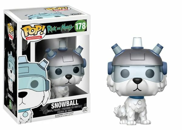 Funko PoP! Rick and Morty 178 SNOWBALL 1