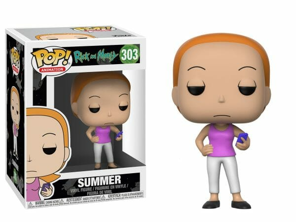 Funko PoP! Rick and Morty 303 SUMMER (Not mint) 1