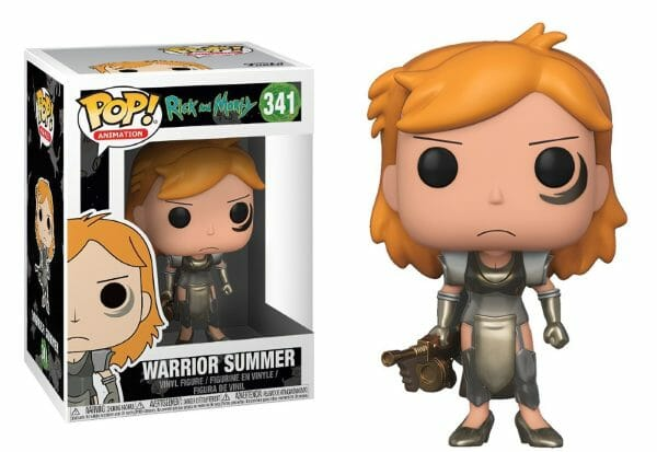 Funko PoP! Rick and Morty 341 WARRIOR SUMMER 1