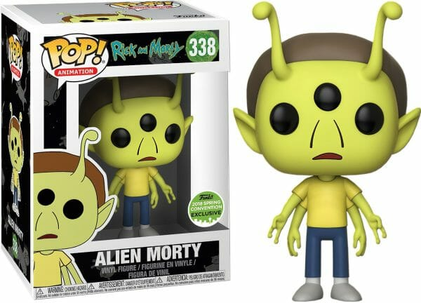 Funko Pop! Rick and Morty 338 ALIEN MORTY ECCC 2018 Exclusive 1