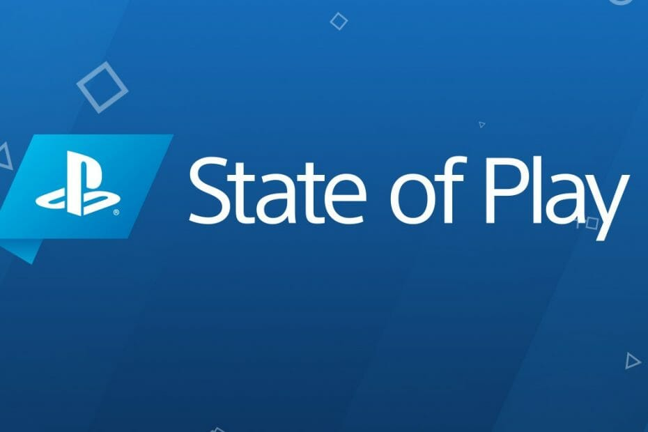 State of Play PS4-PSVR 1