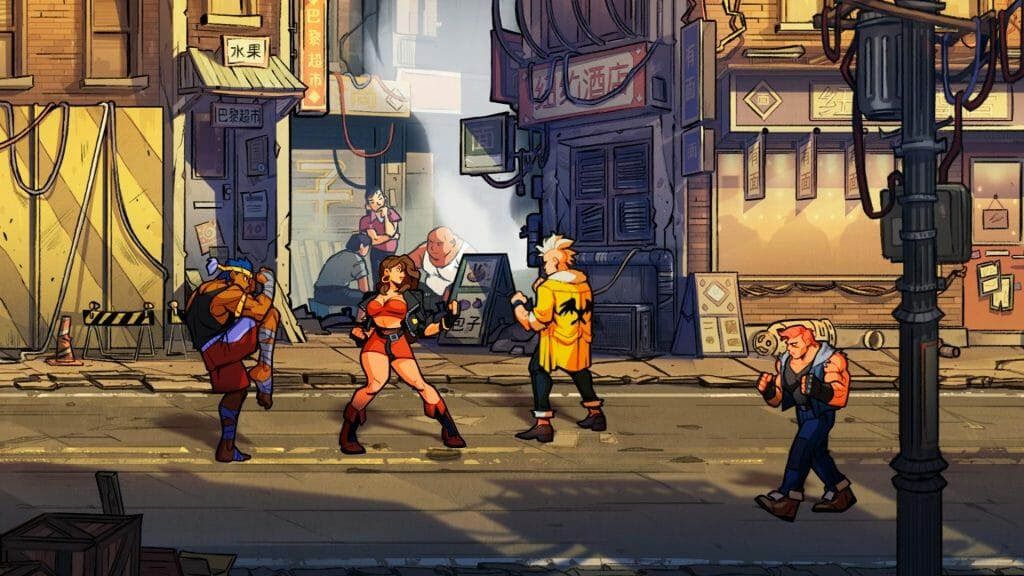 Streets of Rage 4 5