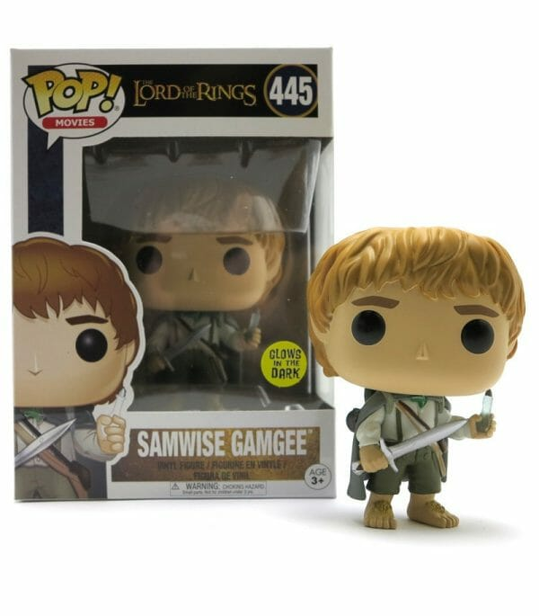 Funko Pop! The Lord of the Rings 445 Samwise Gamgee (Not Mint) 1