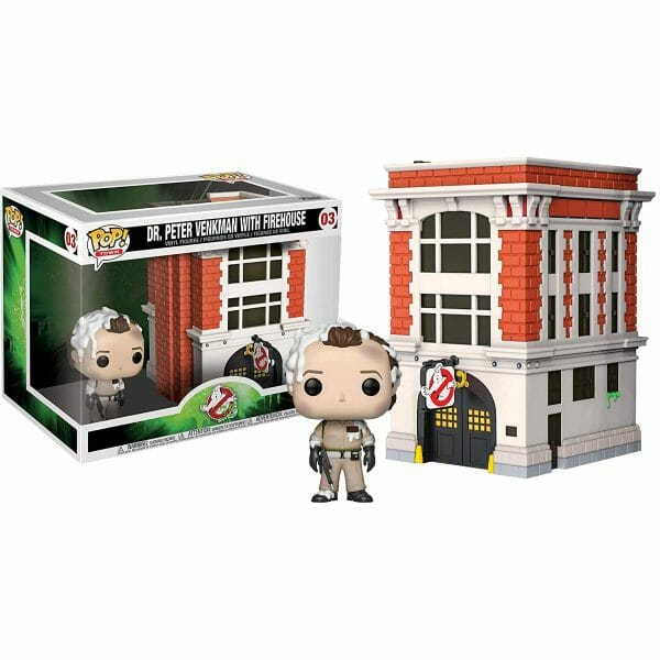 Funko Pop! Ghostbusters 03 Dr Venkman with firehouse 1