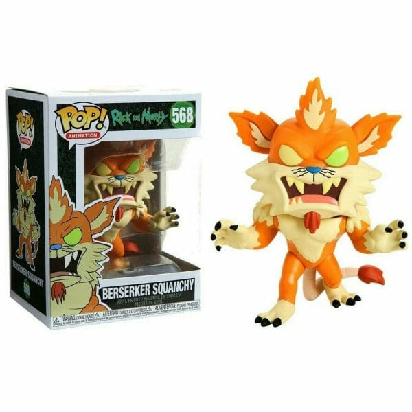 Funko Pop! Rick and Morty 568 Berserker Squanchy 1