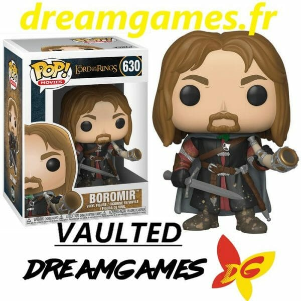 Figurine Pop Lord of the Rings 630 Boromir VAULTED