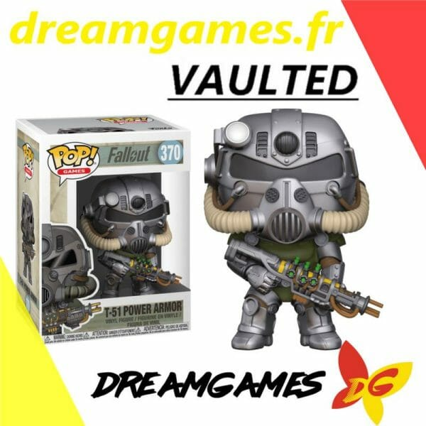 Figurine Pop Fallout 370 T-51 Power Armor VAULTED