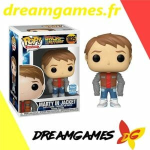 Figurine Pop Back to the Future 1025 Marty in Jacket